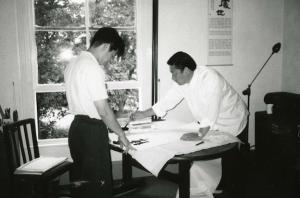 Master Tse and Grandmaster Chen Xiao Wang
