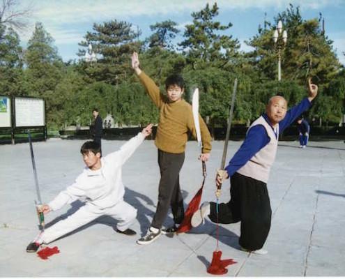 Master Tse and Grandmaster Chun Yuen