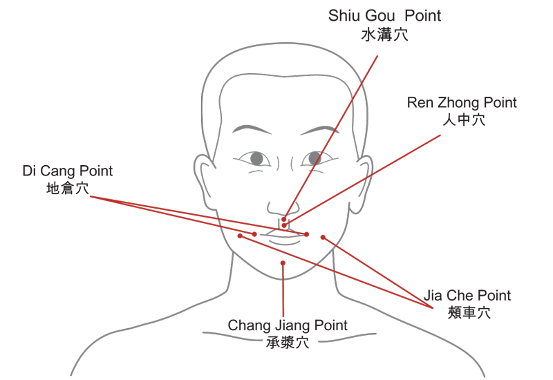 Acupuncture Points for the mouth